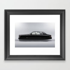 Rolls Royce Hover Car  Framed Art Print