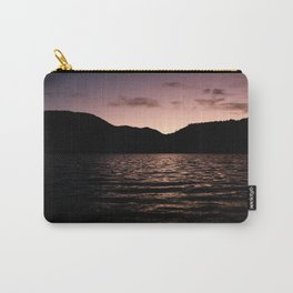Lake in the mountains at afternoon Carry-All Pouch
