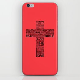 The base of it all it's love iPhone Skin