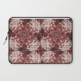 Red Dill Flower Design Laptop Sleeve