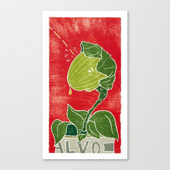 Audrey Jr. Canvas Print