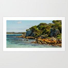Cheynes Beach, Western Australia Art Print