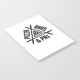Pizza, Bars and PRs Fitness Triangle v2 Notebook