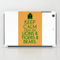 dorothy iPad Cases featuring Keep Calm Dorothy by Rude and Insensitive