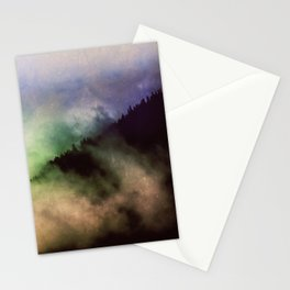 Ethereal Rainbow Clouds - Nature Photography Stationery Cards