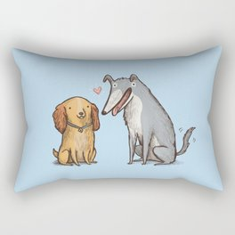 Lady & the Tramp Rectangular Pillow