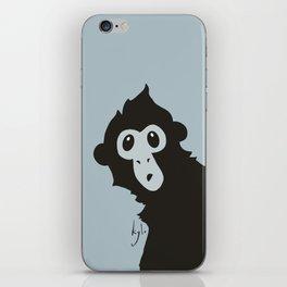 Spider Monkey - Peekaboo! iPhone Skin