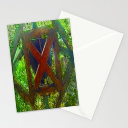 Rusted Cross Stationery Cards