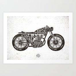 Horse Power by bmd design Art Print