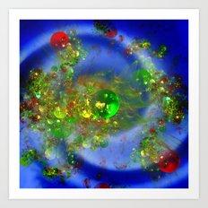 Exploding Universe Art Print