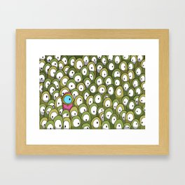 Pingo's People (Dare to be Different!) Framed Art Print