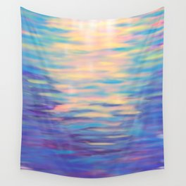 Rainbow Reflections Wall Tapestry