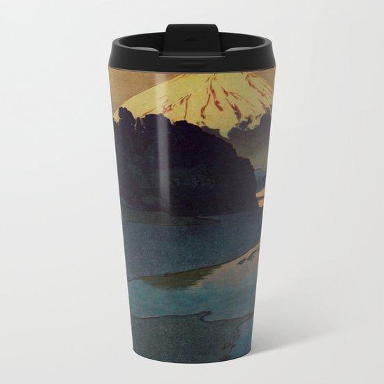 Sunset at Aga Metal Travel Mug