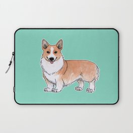 Pembroke Welsh Corgi dog Laptop Sleeve