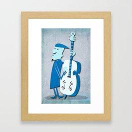 Jazz Man Framed Art Print