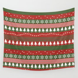 christmass and new year Wall Tapestry