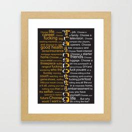 Trainspotting 2 Framed Art Print