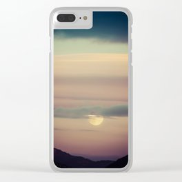 Montana Sunset Clear iPhone Case