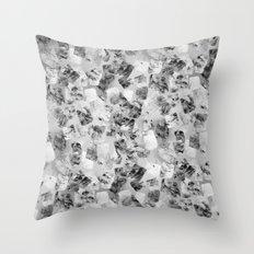tear down variant (monochrome series) Throw Pillow