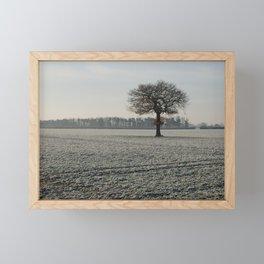 Winter in Yorkshire Framed Mini Art Print