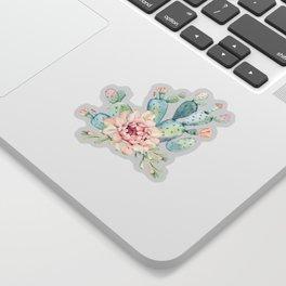 Perfect Cacti Rose Sticker