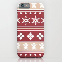 Sweater Pattern 2 c iPhone Case