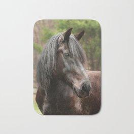 Friesian Horse Bath Mat