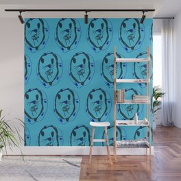 Sabor Tooth Tiger Pattern Wall Mural