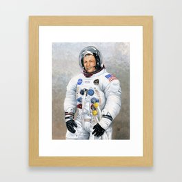 Neil Armstrong Framed Art Print