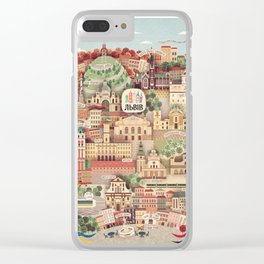 Lviv. Open for the World. Clear iPhone Case