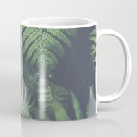fern Mugs featuring fern by elle moss