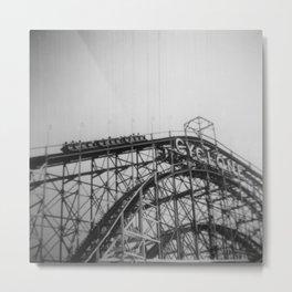 Cyclone Roller Coaster Metal Print