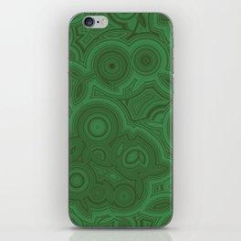 Green Agate iPhone Skin
