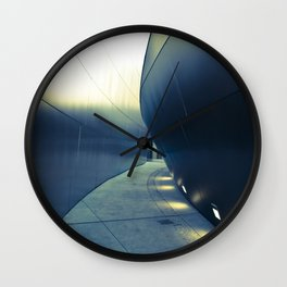 Gehry Exit Wall Clock