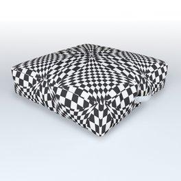 Optical Pattern Outdoor Floor Cushion