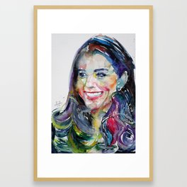 CATHERINE,Duchess of CAMBRIDGE Framed Art Print