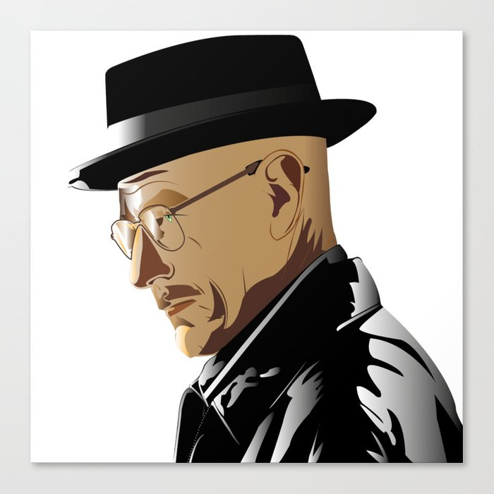 Breaking Bad: Heinsenberg Canvas Print