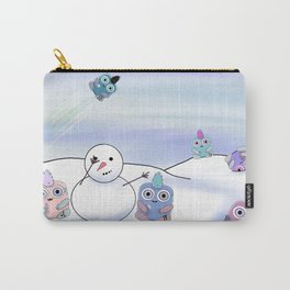 wondrous & Whimzical Places: Winter Fun Carry-All Pouch