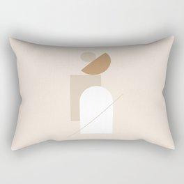 PADRONA DI SÉ - Be the Master of Yourself - Modern abstract art Rectangular Pillow