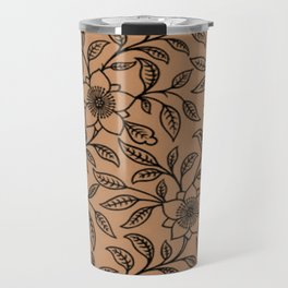 Butterum Lace Floral Travel Mug