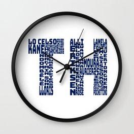 Tottenham 2019 - 2020 Wall Clock