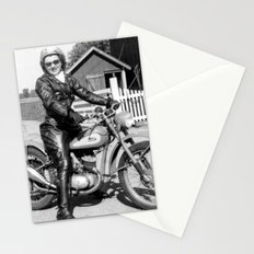 1952 Motorcycle Momma Stationery Cards