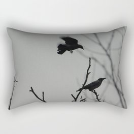 Crows Rectangular Pillow
