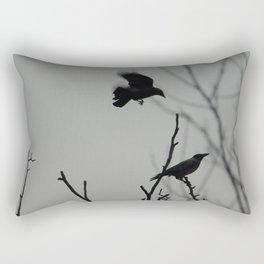 Crows Rectangular Pillow