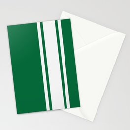 Green Racer Stationery Cards