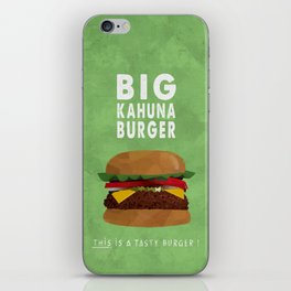 PULP FICTION - big kahuna burger iPhone Skin