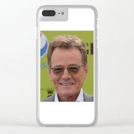 BRYAN CRANSTON Clear iPhone Case