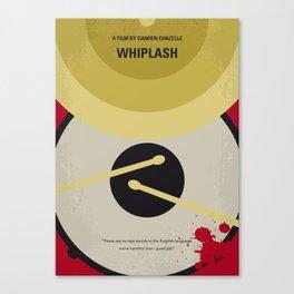 No761 My Whiplash minimal movie poster Canvas Print
