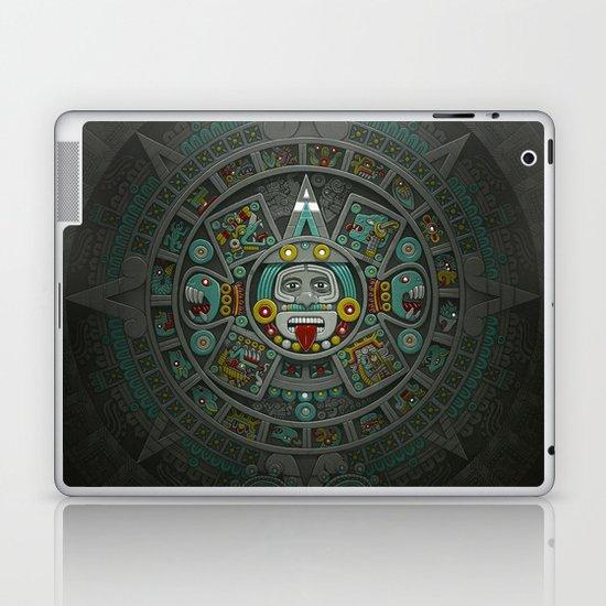 Stone of the Sun II. Laptop & iPad Skin