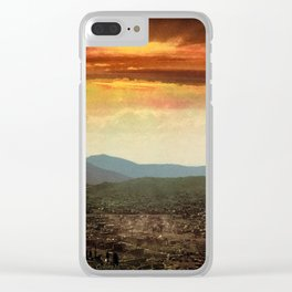 Sunset from Cripple Creek, Colorado, ca. 1899 Clear iPhone Case
